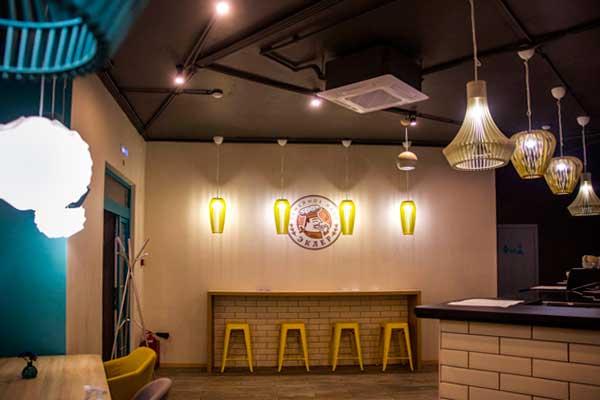 Дизайн ресторана Эклер