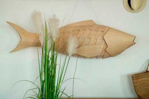 Дизайнерский светильник Рыба
