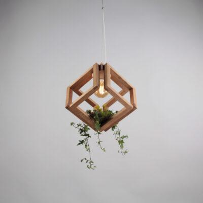 Смарт Светильник из дерева КУБИРИНТ (Smart Cuberint)