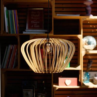 Светильник из дерева PARA 1