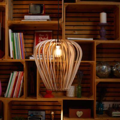 Светильник из дерева PARA 2