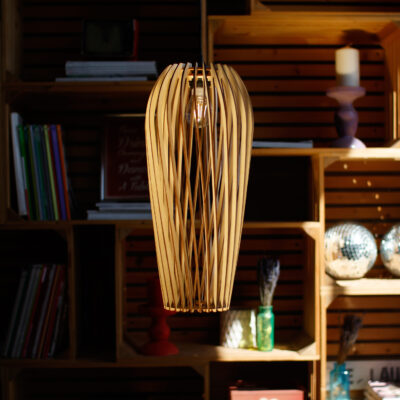 Светильник из дерева PARA 3