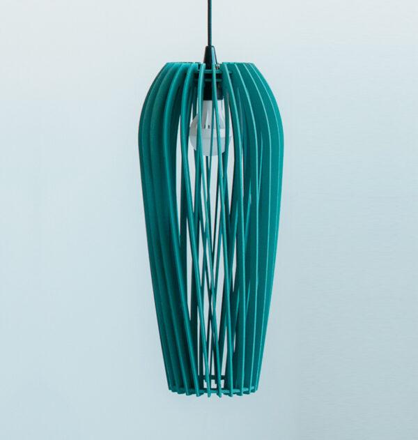 светильник из дерева