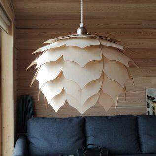 Светильник из дерева ПАНГО 2 (липовая фанера)