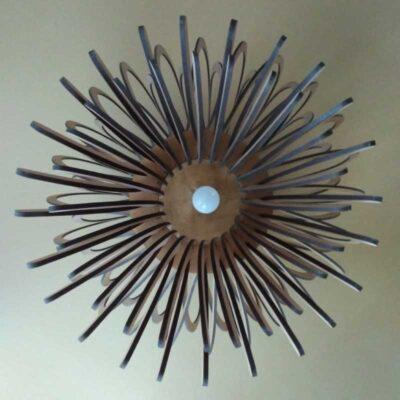 Светильник из дерева Антико 4 (МДФ Бук)