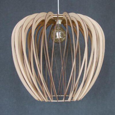 дизайнерский светильник из фанеры darsolino